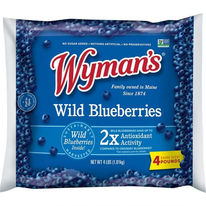 wild bluebrries for Whole30 shopping list