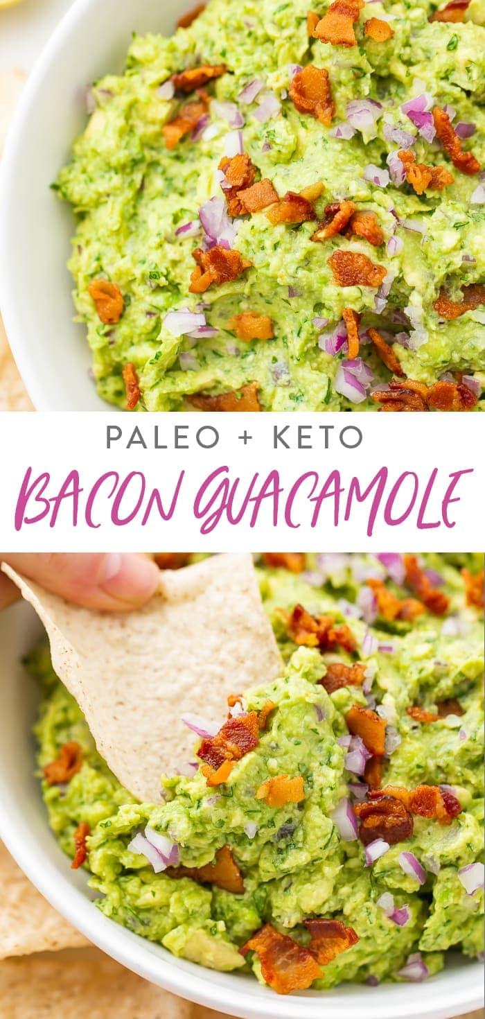 Bacon Guacamole Pinterest graphic