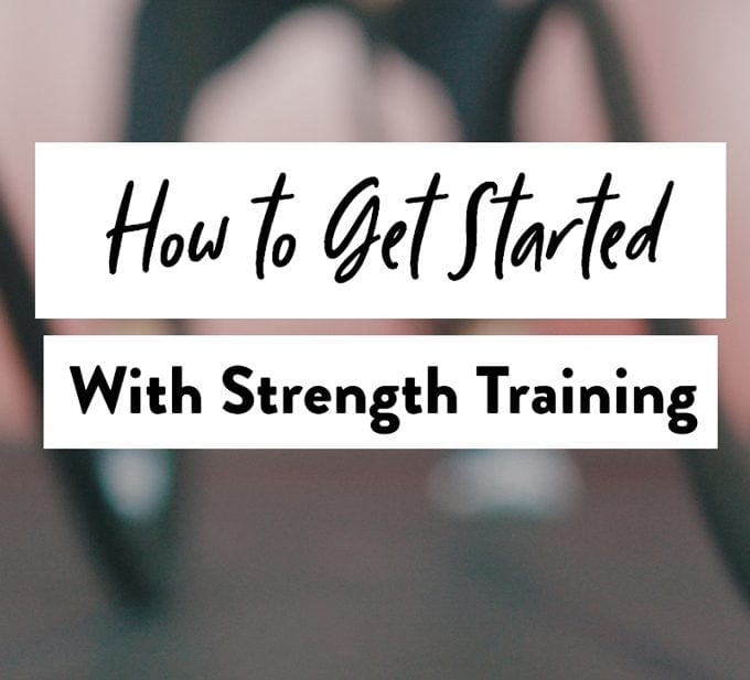 pinterest image of strengh training graphic