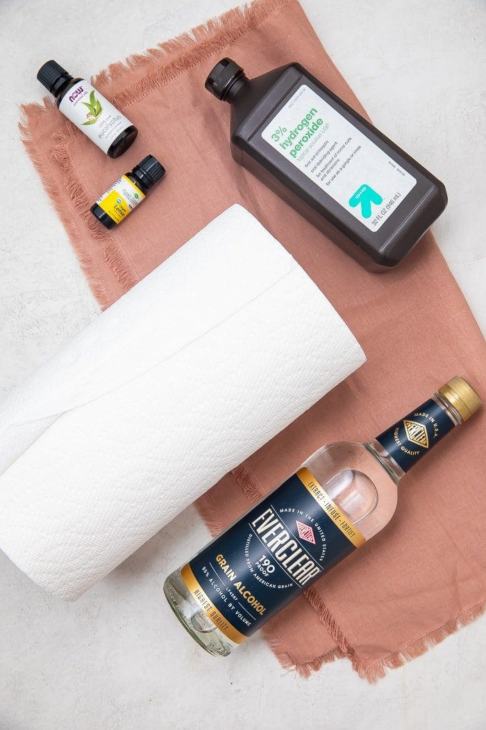 DIY Lysol wipes