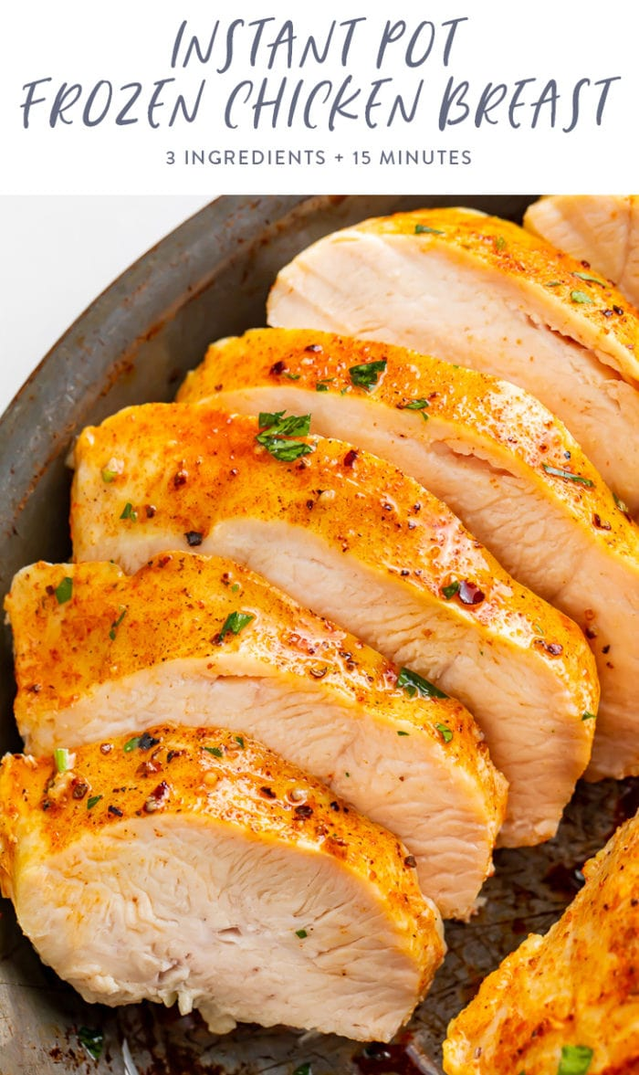 Instant pot frozen chicken breasts