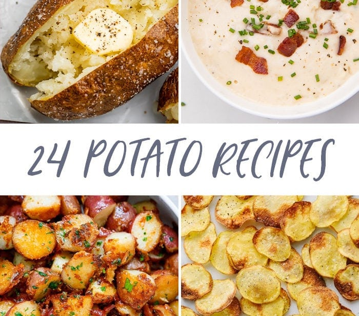 24 potato recipes