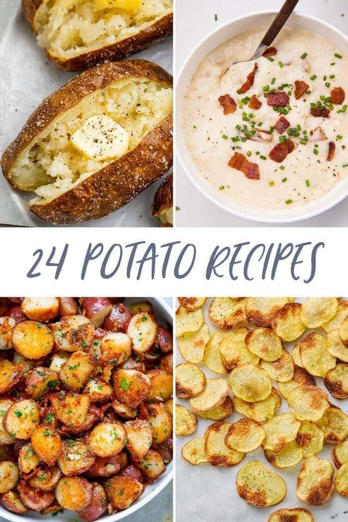 24 potato recipes