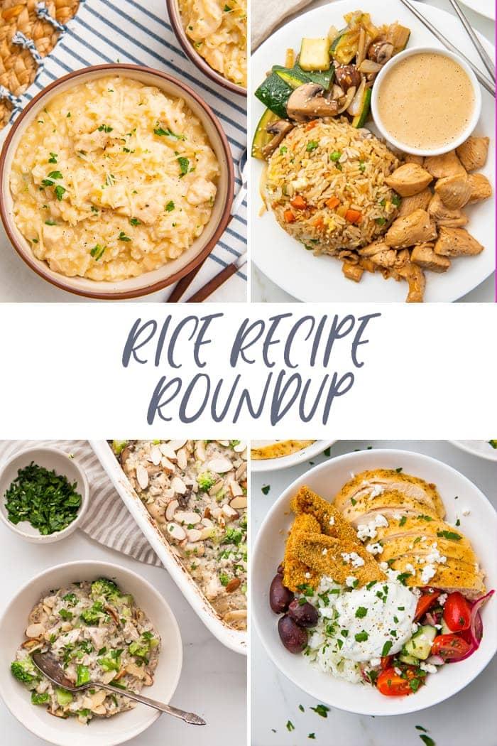 Rice recipe roundup