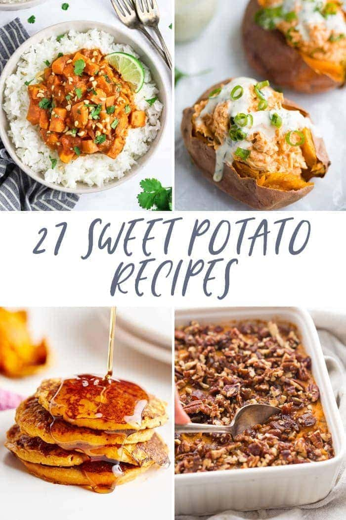 27 sweet potato recipes