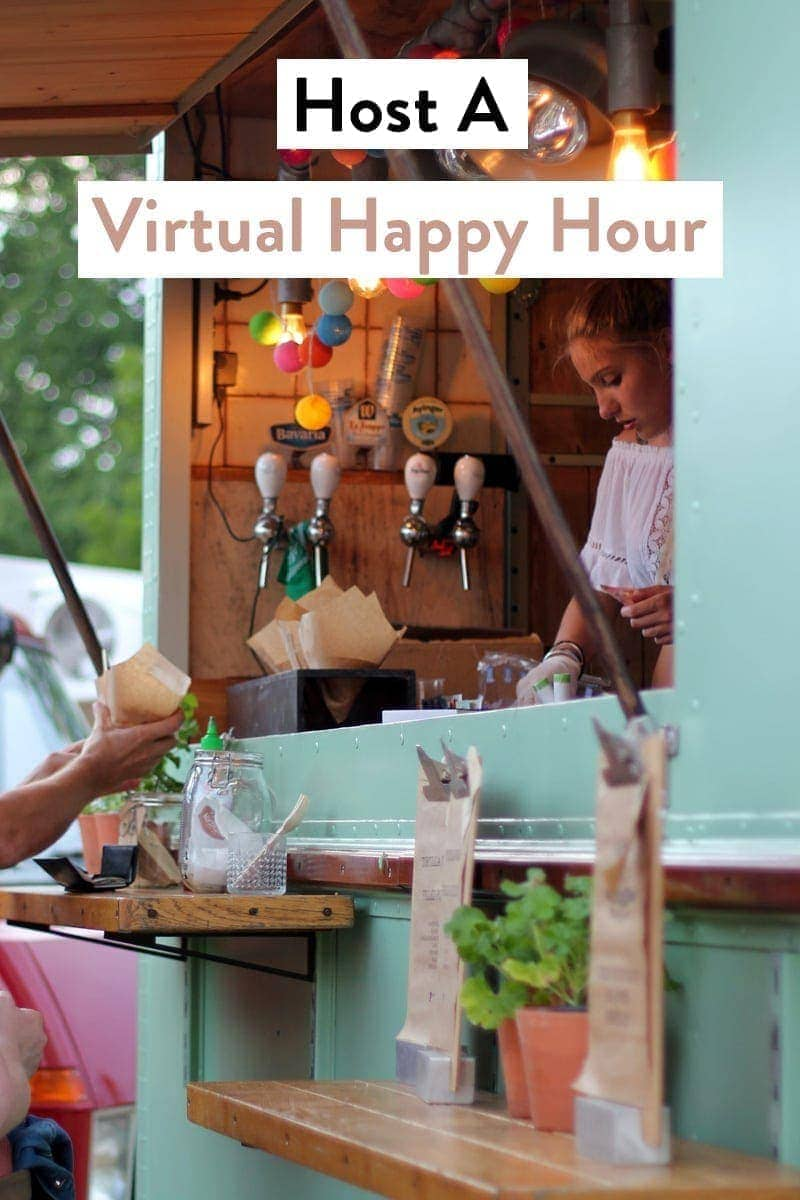 Host a virtual happy hour