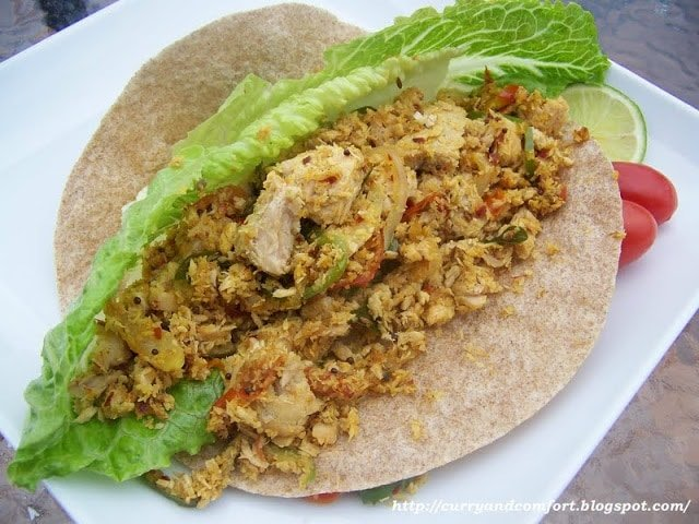 South Indian wrap