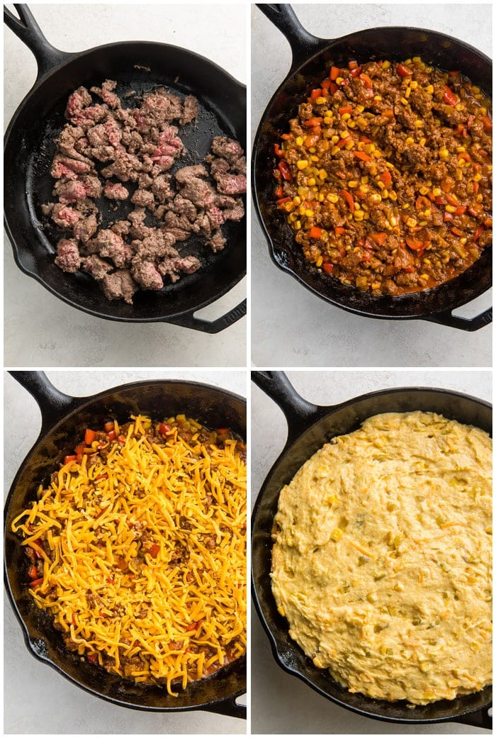 Instructions for tamale pie