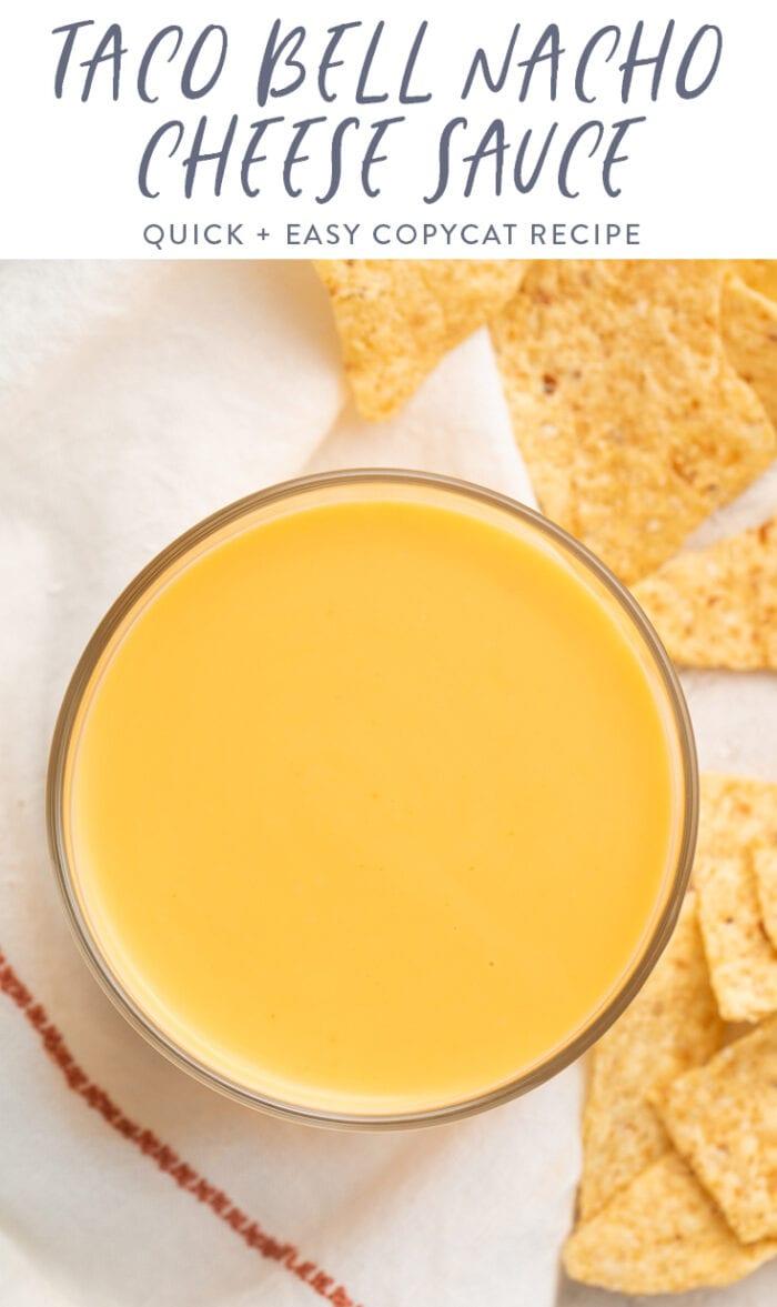 Taco Bell Nacho Cheese Sauce Recipe 40 Aprons