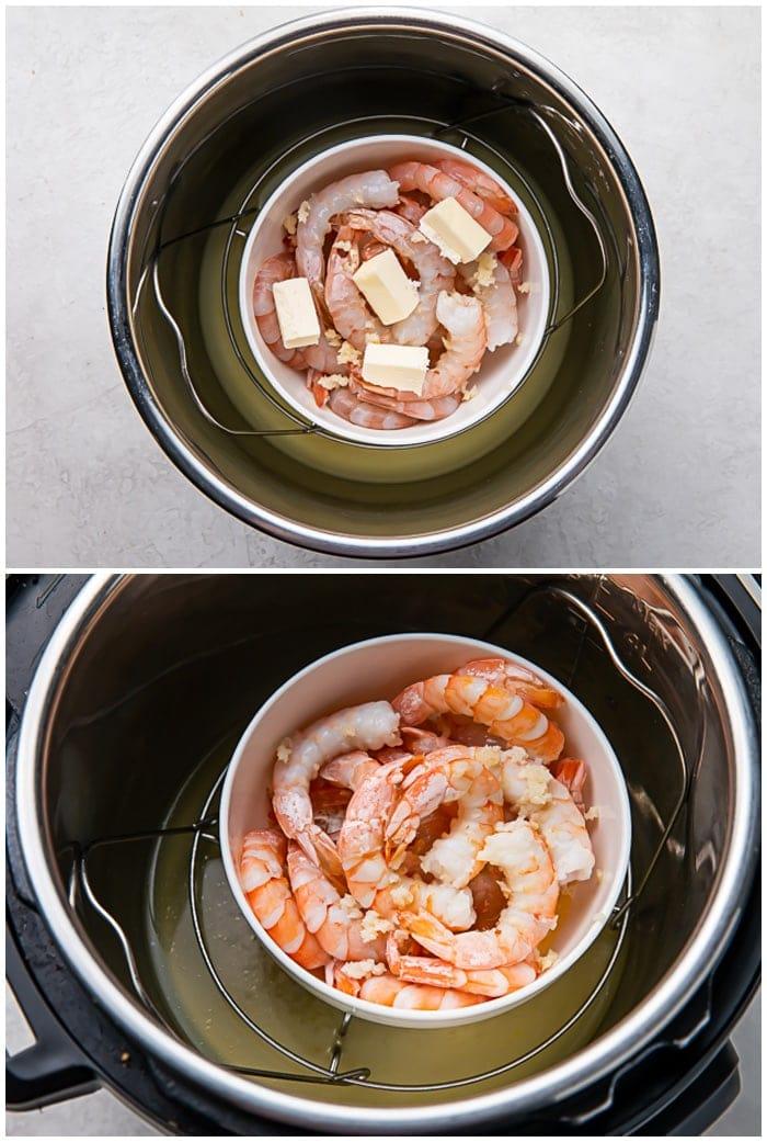 Instructions for Instant Pot shrimp