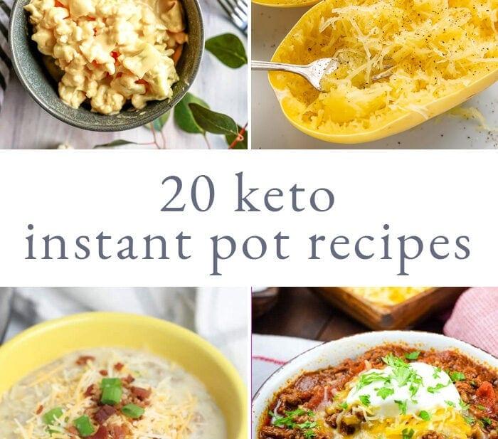 20 Keto Instant Pot Recipes