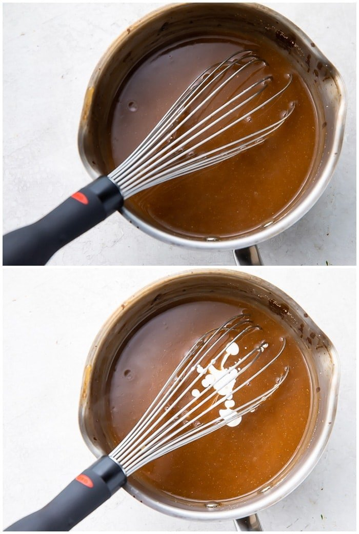 Instructions for brown gravy
