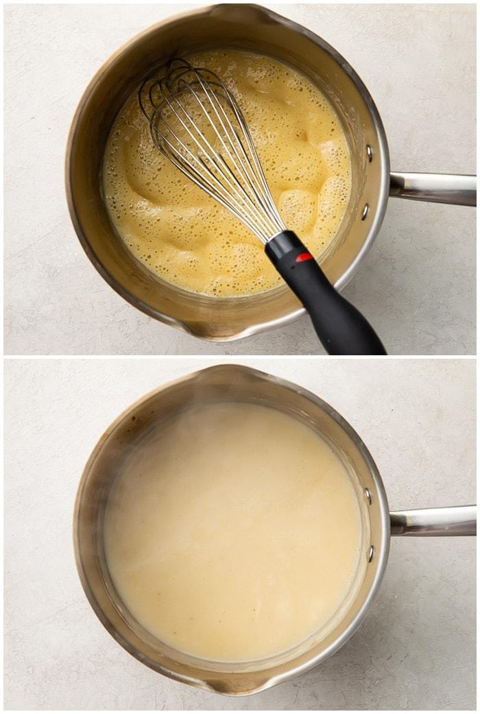 Instructions for chicken gravy