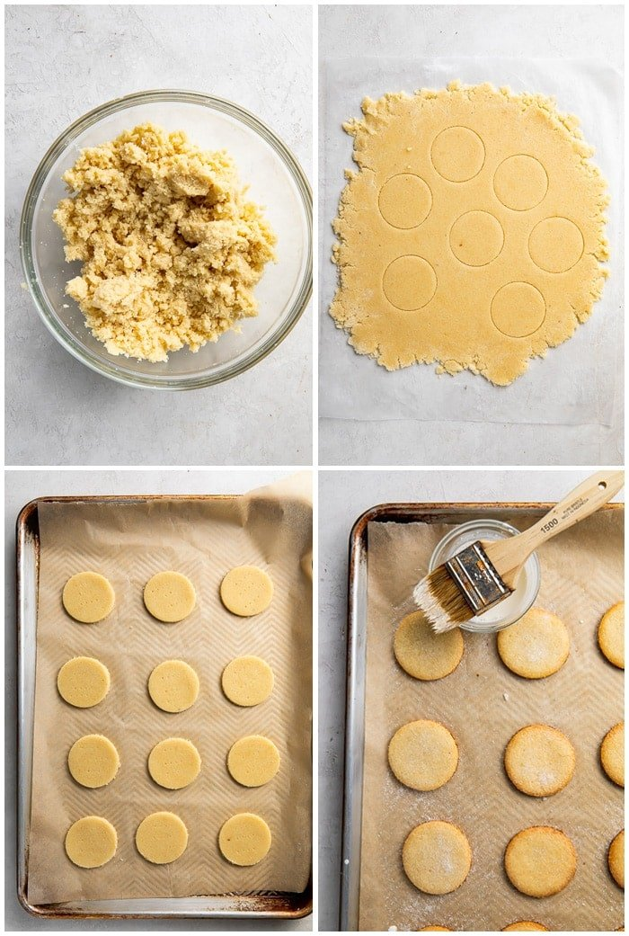 Instructions for keto shortbread cookies