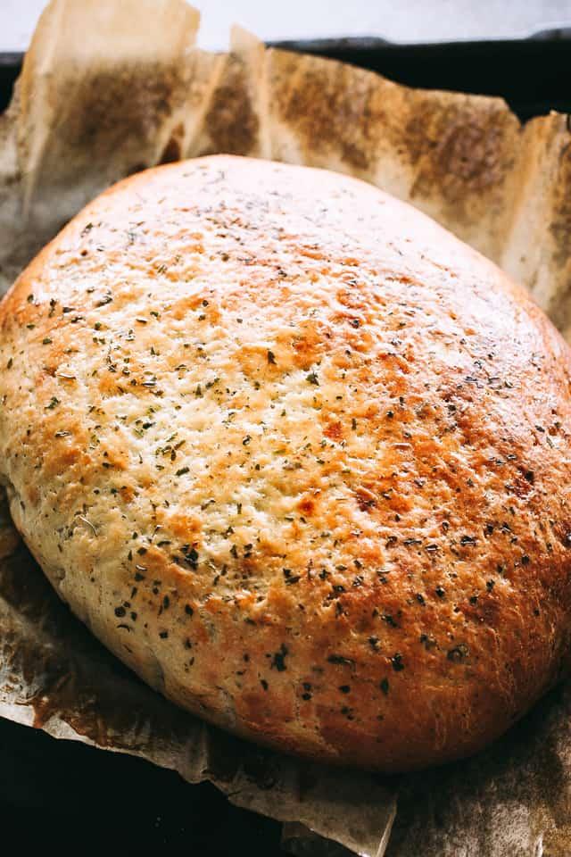 Vegetarian slow cooker bread