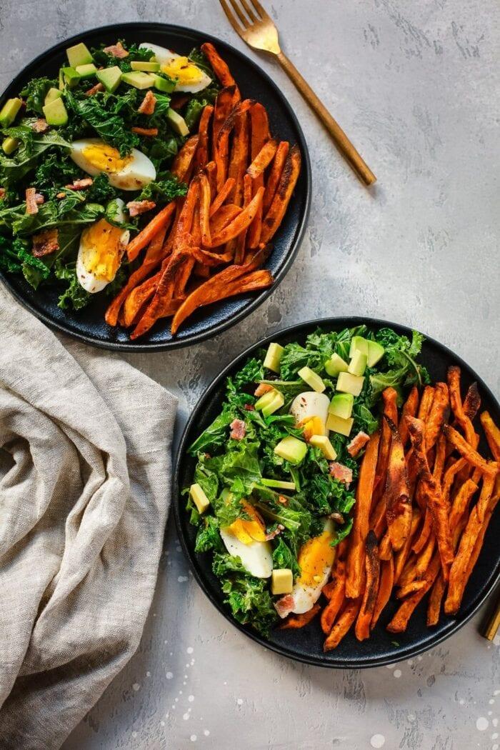Kale and sweet potato whole30 recipe