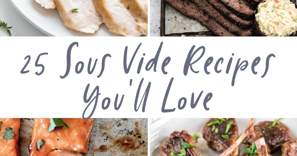 Graphic for 25 sous vide recipes