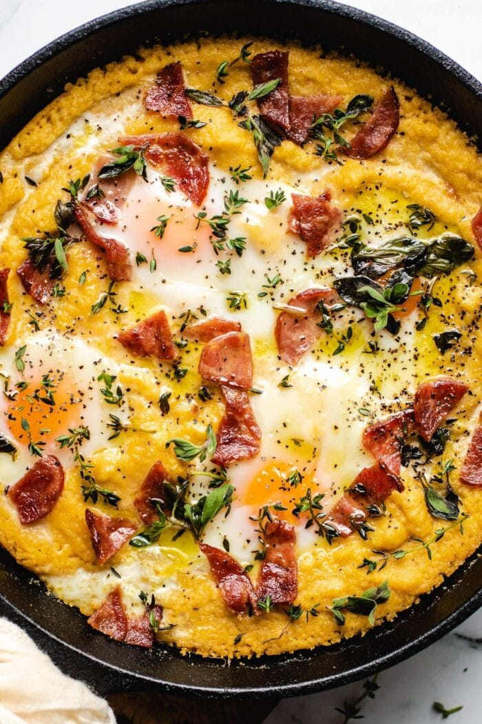 Creamy paleo breakfast grits