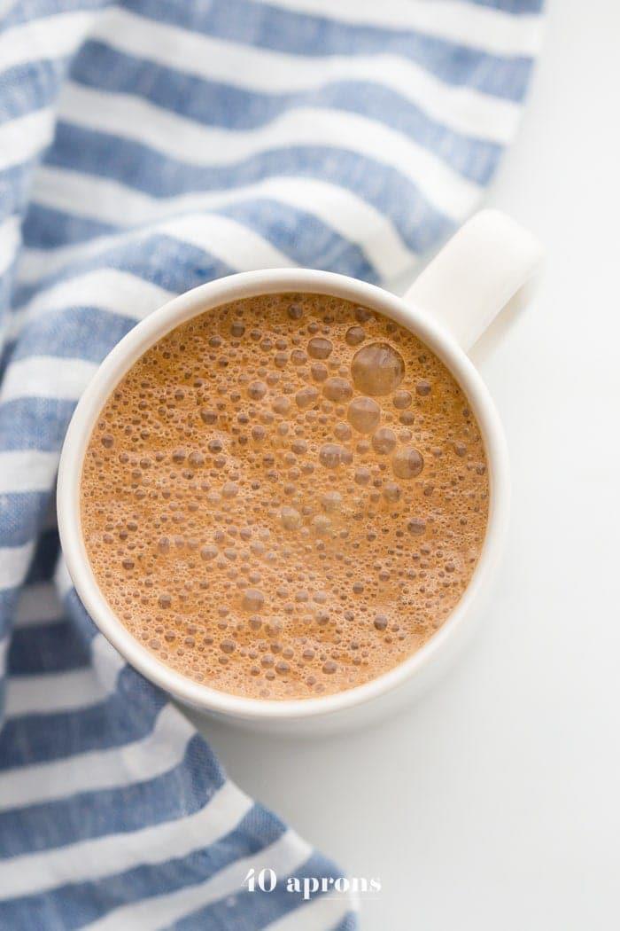 Magic maca latte