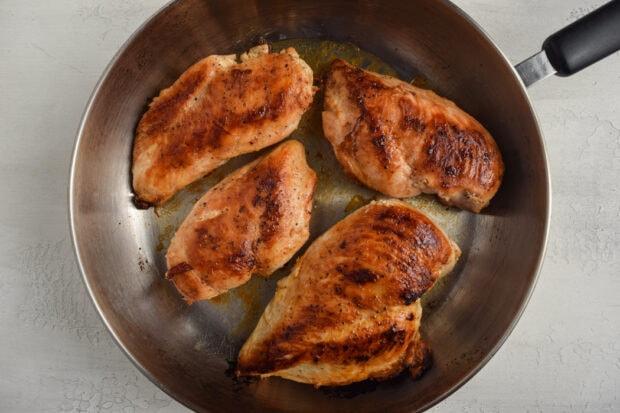Chicken Florentine Process Photo 1