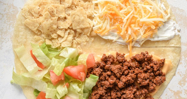 TikTok Mexican tortilla wrap hack