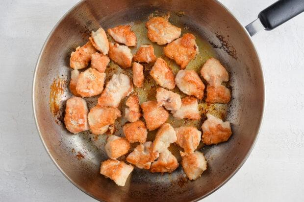 Szechuan Chicken Process Photo 2