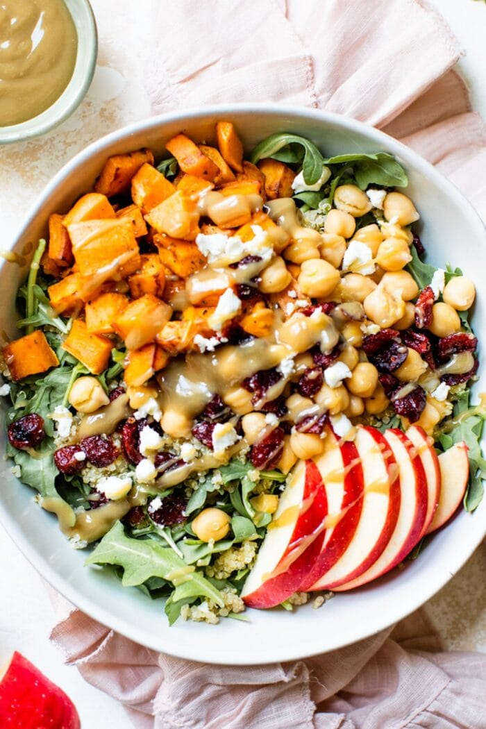 Autumn harvest grain bowl recipe