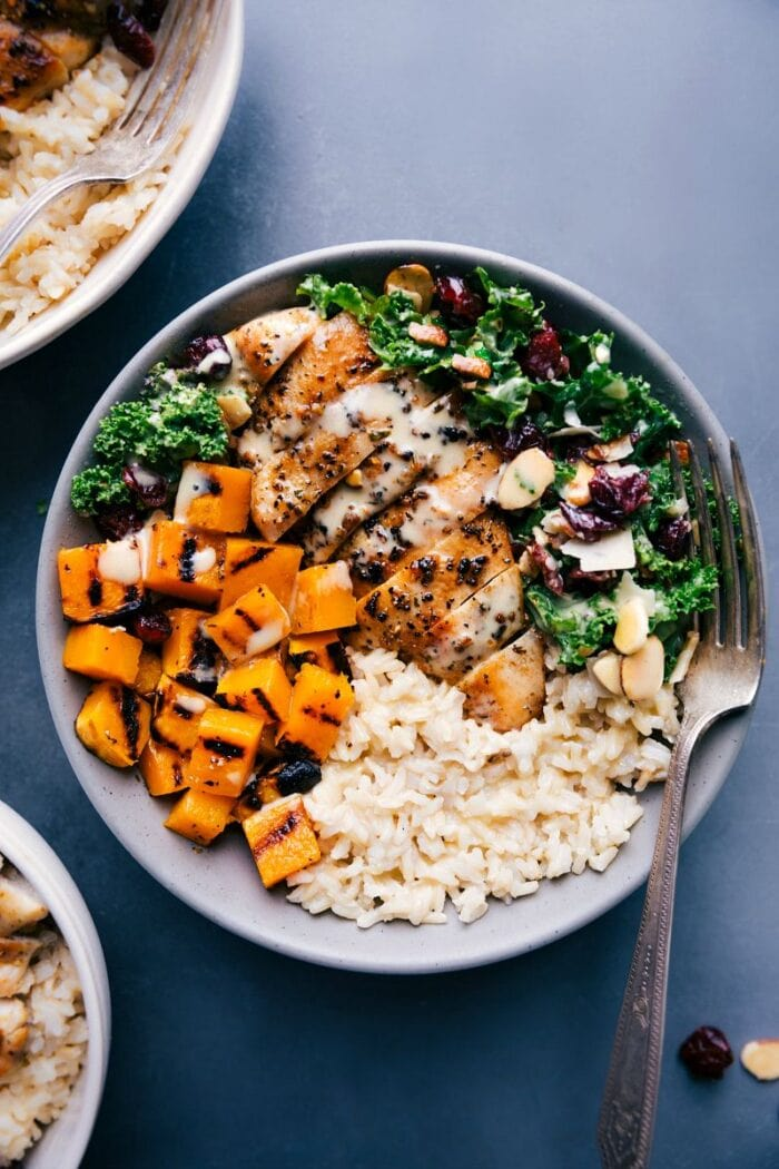 Harvest grain bowl recipe