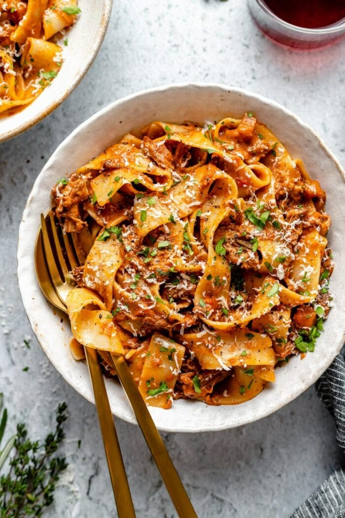 Braised lamb ragu from Plays Well with Butter
