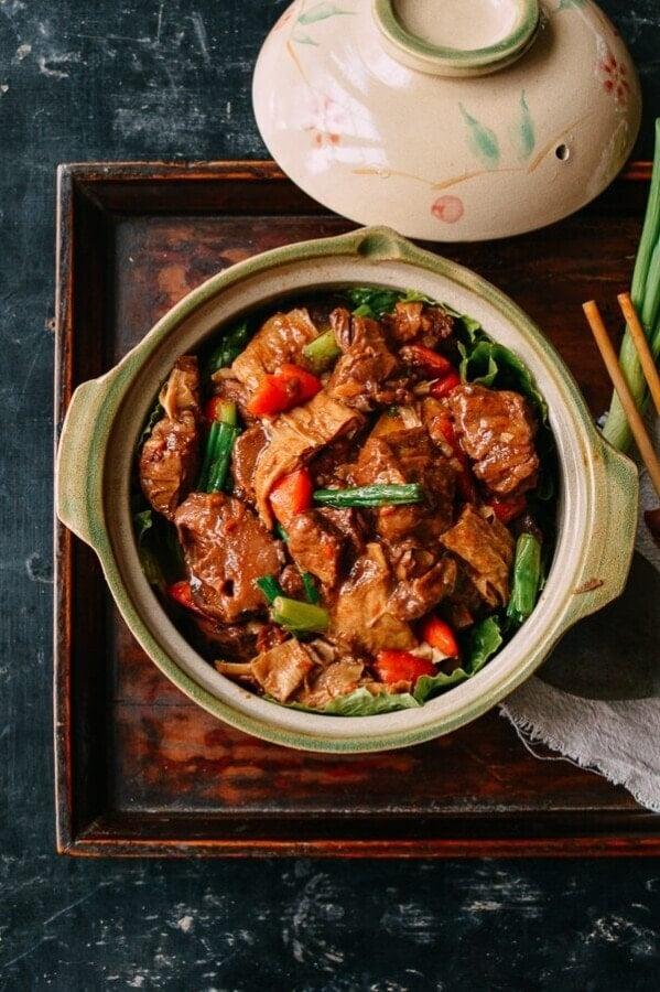 Braised lamb casserole from The Woks of Life