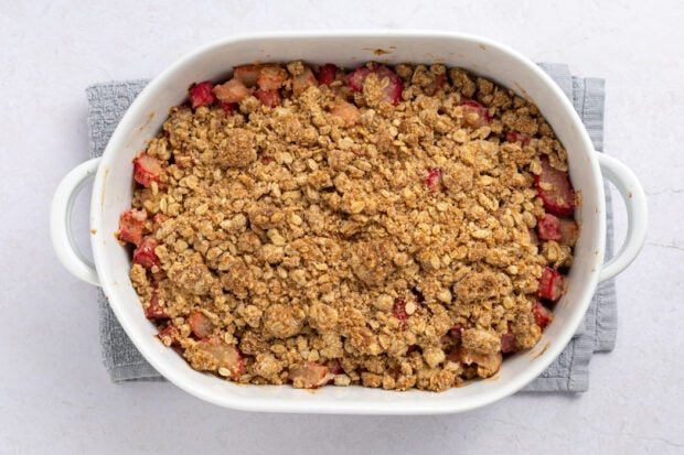 Rhubarb Crumble Process Photo 3