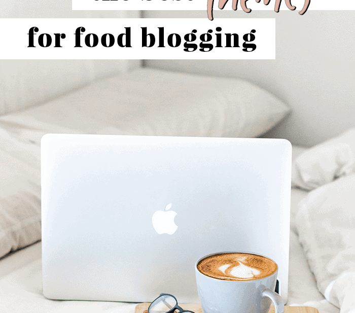 Graphic for The Best Themes for Food Blogging