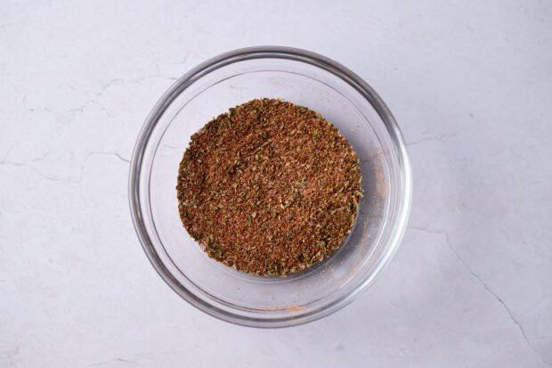 Spice mixture for blackened chicken
