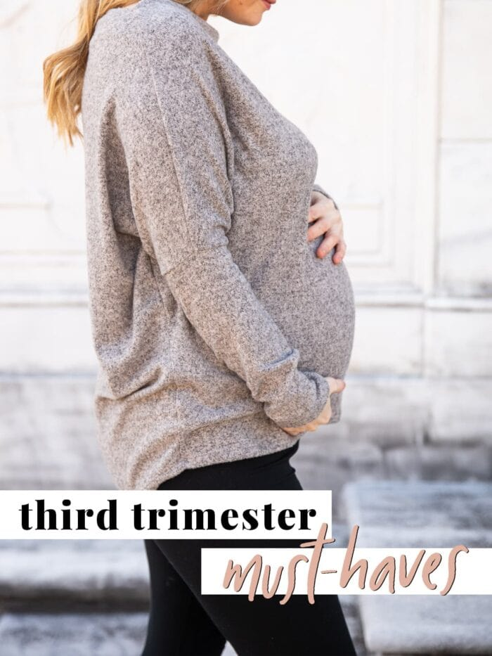Graphic for third trimester must haves
