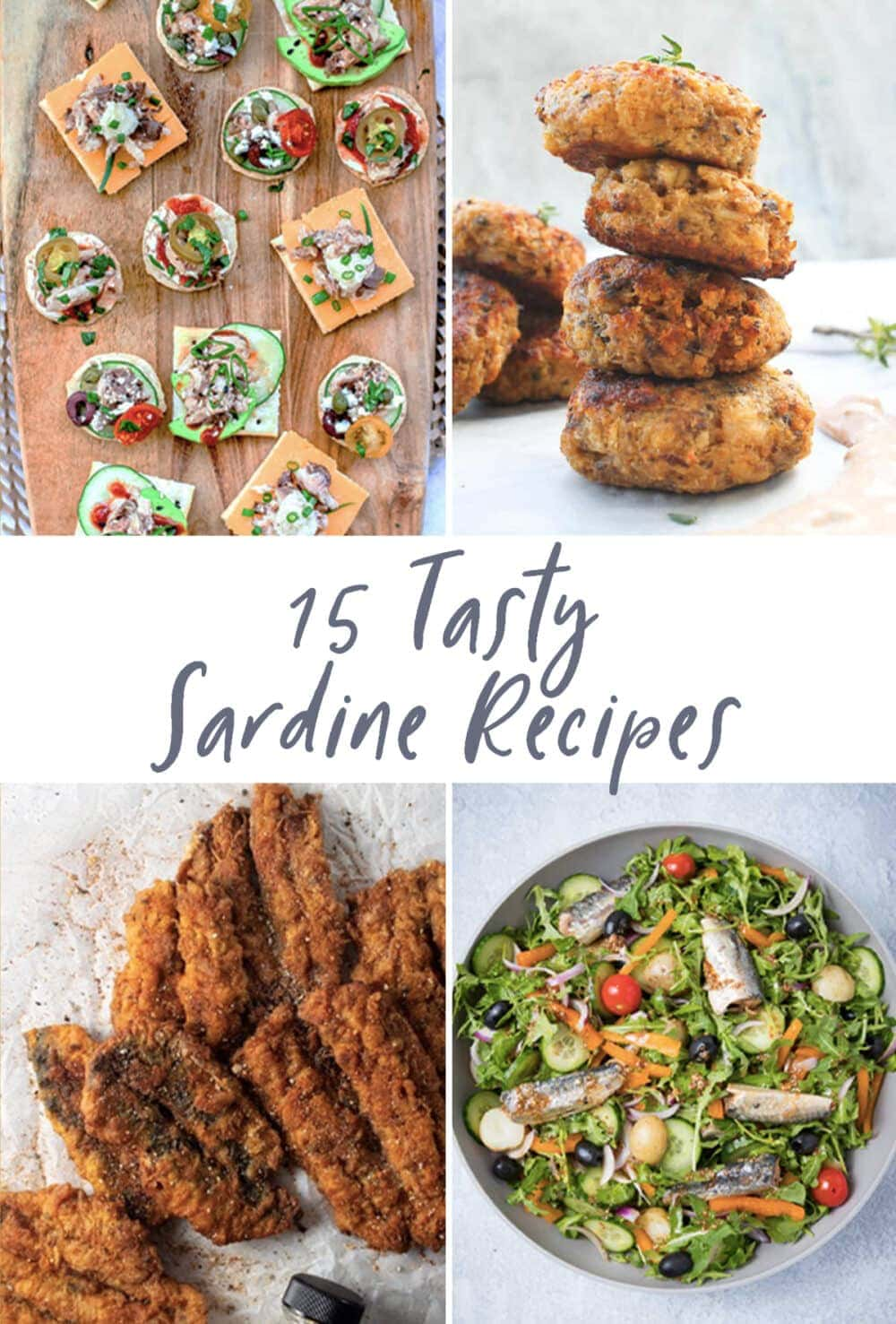 Graphic for 15 tasty sardine recipes post