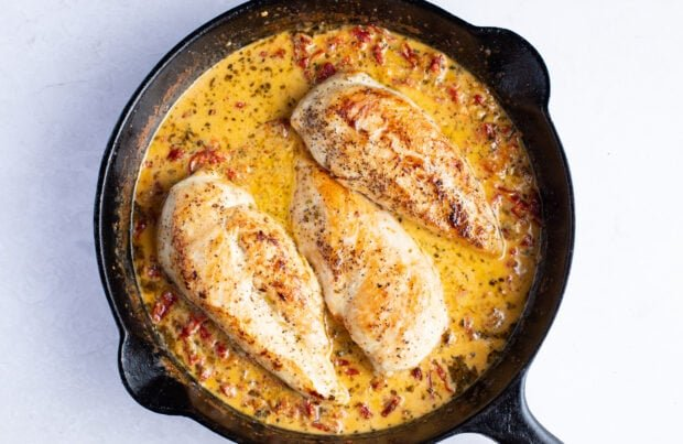 Marry me chicken without basil