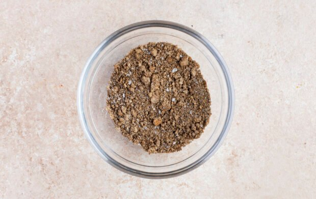 Dry rub spice ingredients