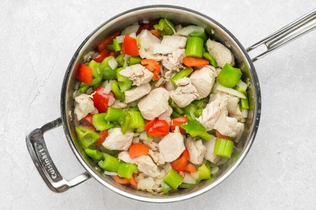Black pepper chicken step 2