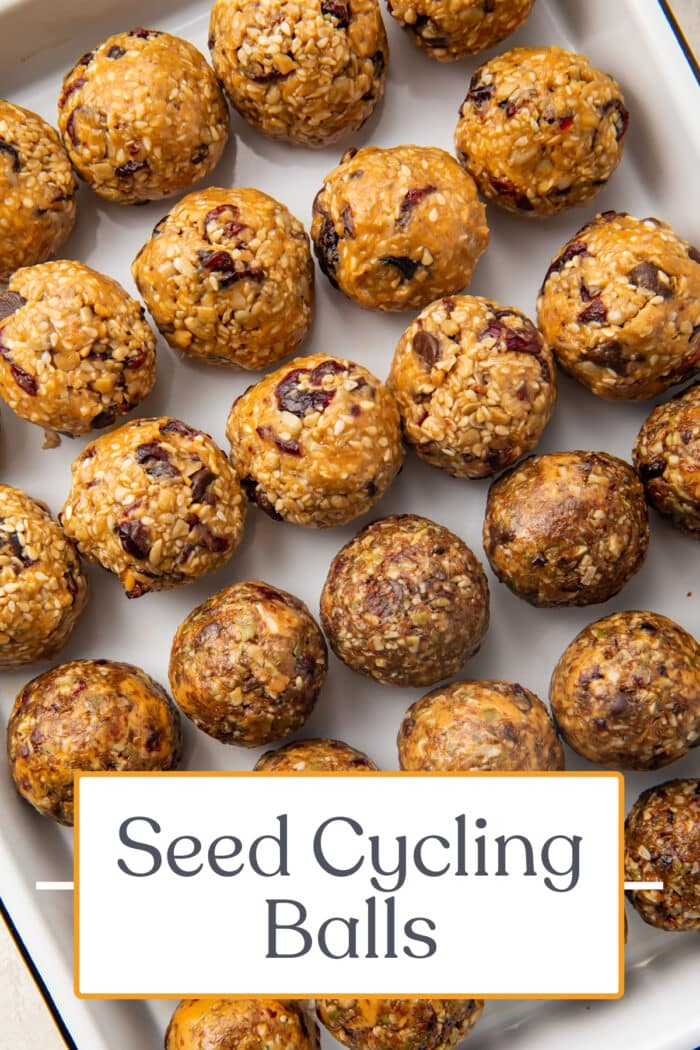 Pin graphic for seed cycling balls