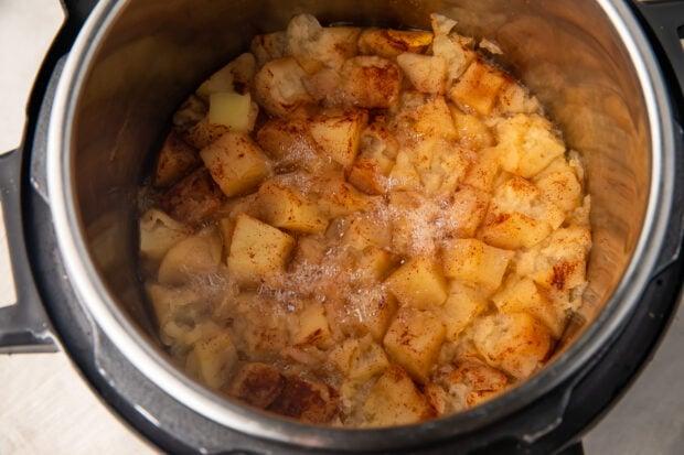 Instant Pot applesauce in Instant Pot