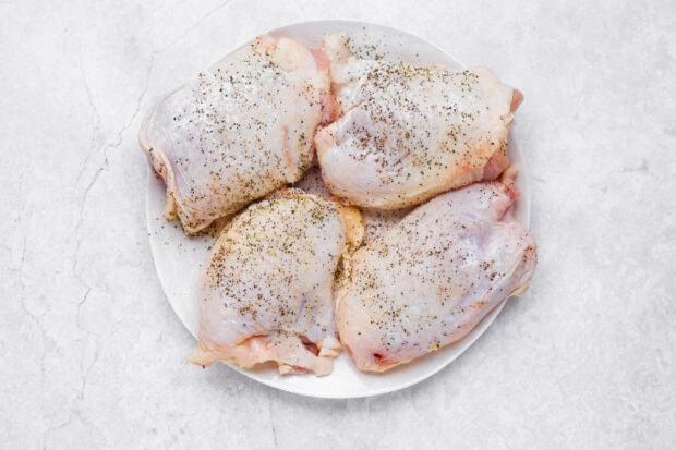 chicken vesuvio step 1
