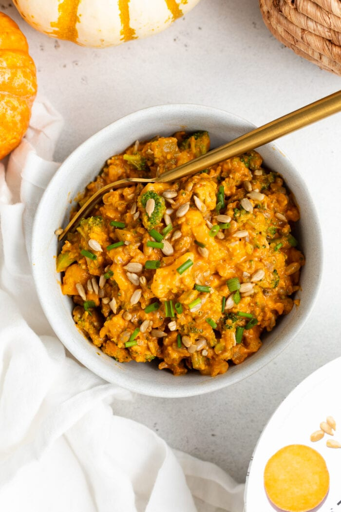 Daily Harvest harvest bowl with sweet potato and wild rice hash