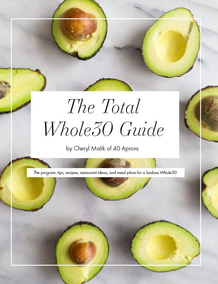 Total Whole30 Guide and Starter Kit (with Whole30 Meal Plans)